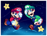 Super Mario Brothers by Ipun
