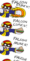 CAPTAIN FALCON by Nintooner
