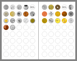 Emoticoin Collection by ViciousCherry