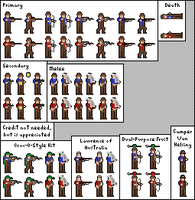 Sniper Sprite Sheet by 1Ant99
