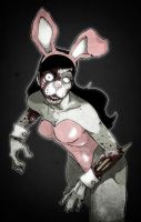 When Zombie Bunnies Attack by paulorocker