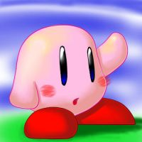 Kirby ART TEST by MASTERofGAMING