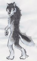 Walking Wolf by Baramin-Fatalis