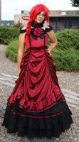 Grell sturcliff prom dress by visuvampy