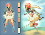 Character Auction: Elf Samurai Girl [CLOSED] by Ondinel
