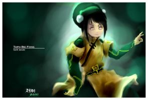 Toph Bei Fong by deviantMIAH