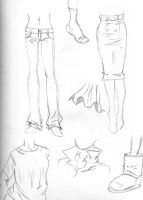Clothes sketchdump by Dancing1233