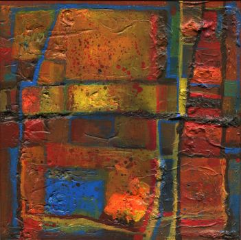 abstract painting untitled by ink5000