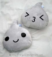 Hershey kiss pillows by TokiCrafts