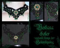 Verdana choker by redLillith