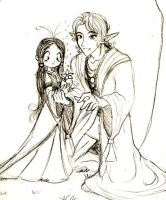 elf and child by Kikoli