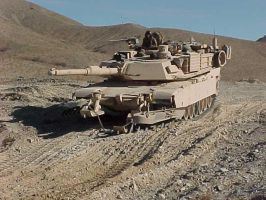 M1A2 Mineplow At Work by RBL-M1A2Tanker