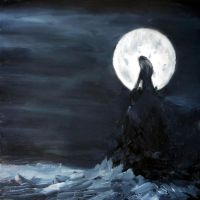 Shivers (oil speed paint) by ark4n