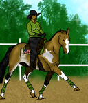 Chico Western Dressage Entry by Starcather9