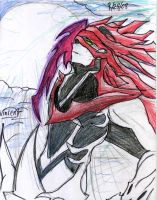 Vincent Valentine Chaos by Teckito