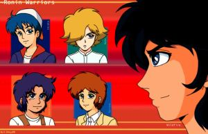 "Ronin Warriors- ""5 Elements"" by K-Shinju88"