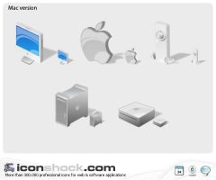 Mac Web icons by Iconshock