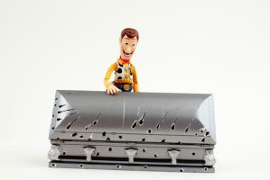 he likes them stiff.... by SalemCrow