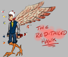 .:The Red-Tailed hAWK:. by Glass-Spork