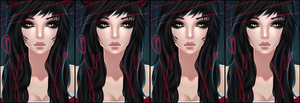 Imvu Edit - LoL Ahri by Fluuffy