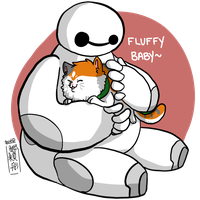 BH6: FLUFFY BABY by Lil-Wang