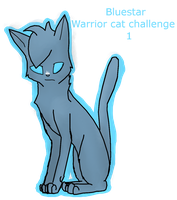 Warrior Cat Challenge 1 Bluestar by Perry--Agent