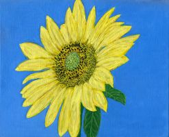 Sunflower No.2 by pensive-painter