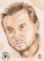 Gavin Rossdale Quick Portrait by Klyde-Chroma
