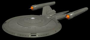Star Trek: UES Endeavour WIP by Librarian-bot
