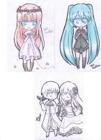 Some Vocaloid with Hetalia by hinarytea