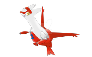 latias without background by magicalyuki