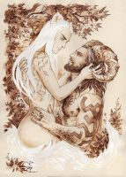 Love in the forest by Candra