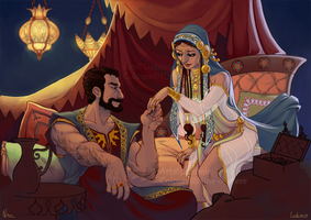 One Thousand and One Nights by LudiNine