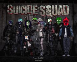 Suicide Squad Poster by GOXIII