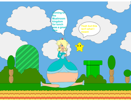 Rosalina's Mushroom Kingdom Lunch by Marioman94