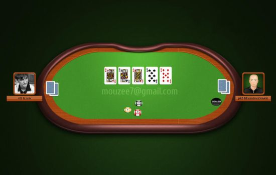 Poker table by igor-tomko