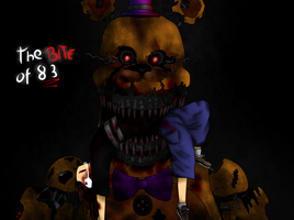 The Bite Of 83 / Nightmare Fredbear / Fnaf4 by TsubasaNami