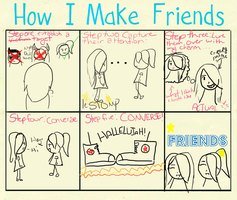 How I make Friends by Satesa