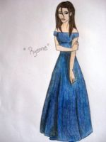 Ryenne's Blue Dress by TulioMiguel