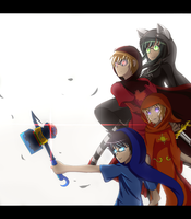 Homestuck: 4/13 by Tayeko