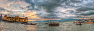 Butterworth Jetty, Penang (Pano style) by fighteden