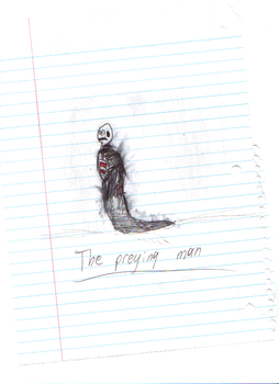 The Preying man by James-L-Wolf
