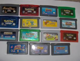 My Gameboy Collection by color-freak1