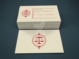 Business Card by Sith4Brains