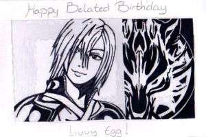 Happy belated Bday Livvy Egg by originalsoundtrack