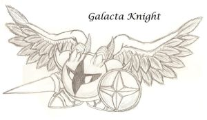 Galacta Knight Sketch by FrostFlurry92