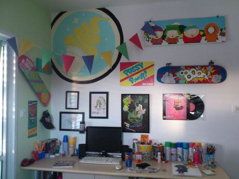 My room is my gallery by MorEliezri