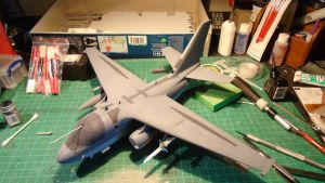 1/48 Scale S-3GC Viking Progress (99% finished) by Coffeebean2