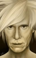 Andy Warhol - Detail Head by BenHeine