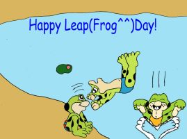 Happy Leap(frog^^) day! by 101boy
